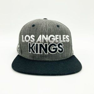 LA Kings Snap=Back Cap from Reebok Center Ice